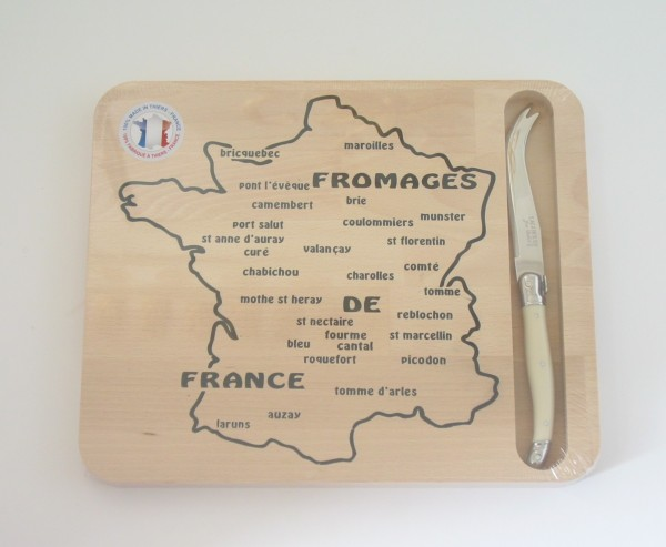 Käsebrett Fromage De France mit Messer